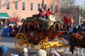 Downtown Lawrence Old-Fashioned Christmas Parade 1