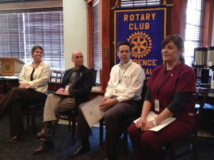 Lawrenc Central Rotary new Members March 2013