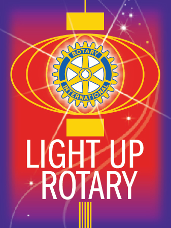Light Up Rotary - 2014-2015 Theme
