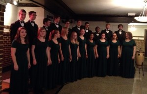 Free State Chamber Singers at Lawrence Central Rotary 2014