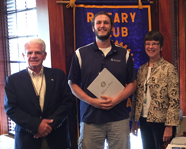 Stephen Mason | lawrence Central Rotary