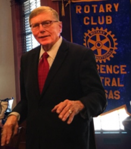 Dr. Ed Berger | Kansas Cosmosphere | Lawrence Central Rotary
