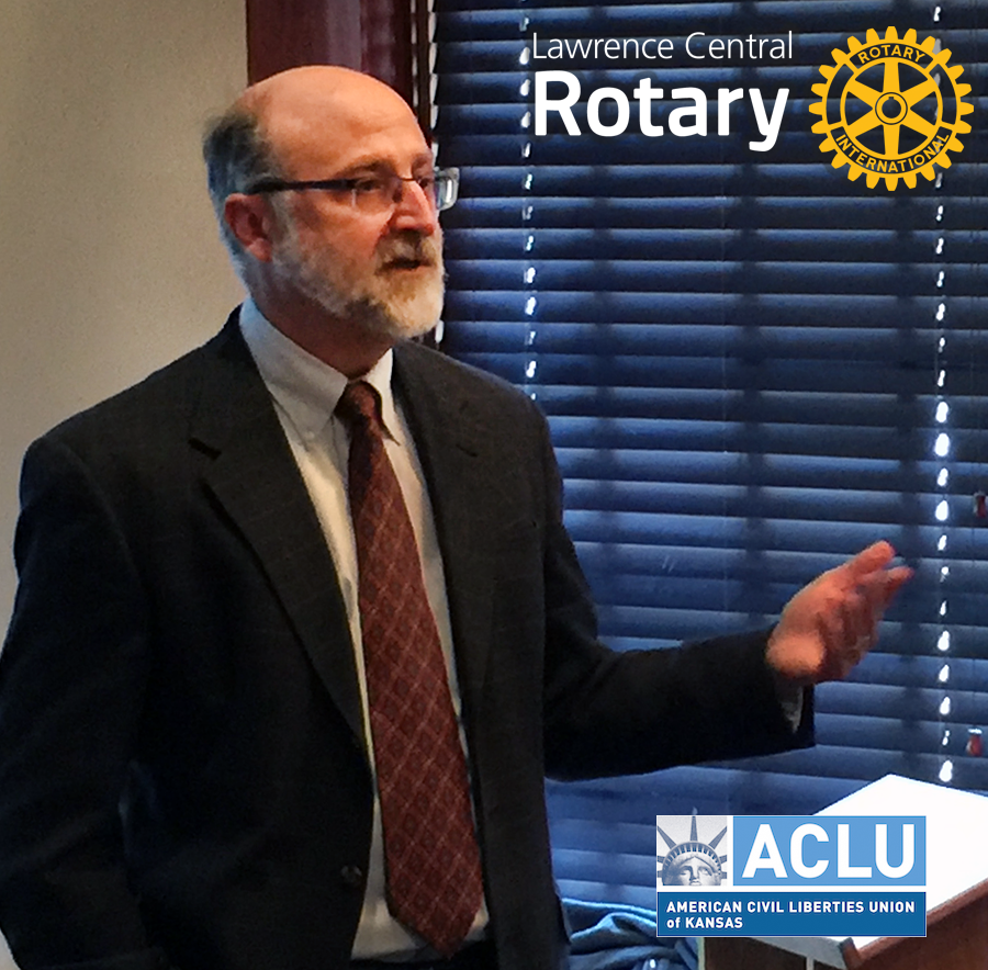 Doug Bonney, Chief Council ACLU - Kansas
