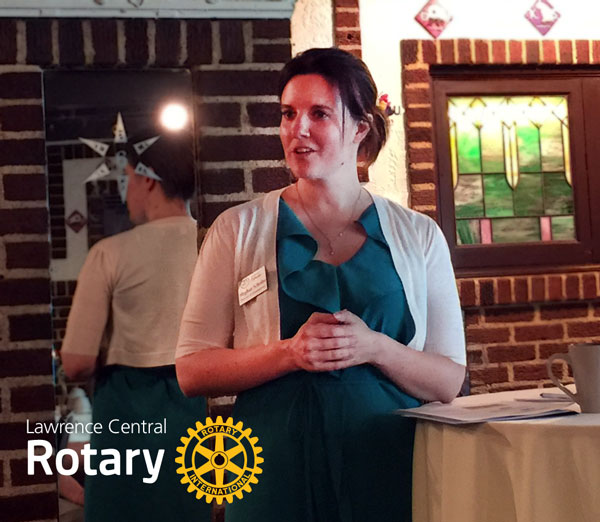 Megan Scheibe | Lawrence Humane Society | Lawrence Central Rotary